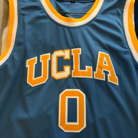 detailed look 12968 989cd Russell Westbrook UCLA Jersey